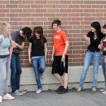 Picture of a group of teens